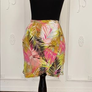 H&M Tropical mini skirt